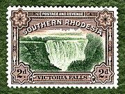 Victoria Mixed Media - Victoria Falls - 2d ED by Outpost Imagery