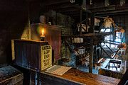 Flame Metal Prints - Victorian Candle Factory Metal Print by Adrian Evans