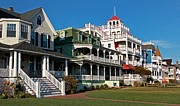Scenic Photography Prints - Victorian Cape May Print by Skip Willits