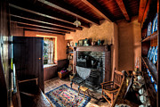 Living Room Digital Art - Victorian Cottage by Adrian Evans