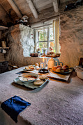 Tray Prints - Victorian Cottage Breakfast Print by Adrian Evans