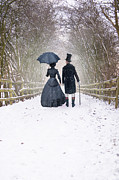 Lee Avison - Victorian Couple Walking...
