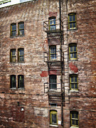 Spokane Prints - Victorian Fire Escape Print by Daniel Hagerman