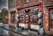 Country Store Digital Art Framed Prints - Victorian Hardware Store Framed Print by Adrian Evans