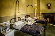 Wall Table Prints - Victorian Hospital Ward Print by Adrian Evans