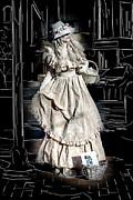 Victorian Lady Print by John Haldane