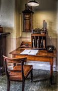 Chair Digital Art Posters - Victorian Medical Office Poster by Adrian Evans