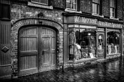 Entrance Shop Front Prints - Victorian Menswear Print by Adrian Evans