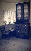 Net Photo Metal Prints - Victorian Room Metal Print by Christopher and Amanda Elwell