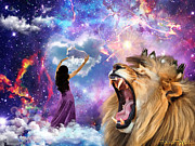 Lion Of Judah Posters - Victory Poster by Dolores DeVelde