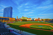 Baseball Field Framed Prints - Victory Field 1 Framed Print by David Haskett