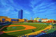 Indy Indians Metal Prints - Victory Field 2 Metal Print by David Haskett