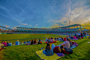 Jw Marriott Prints - Victory Field Oil Print by David Haskett