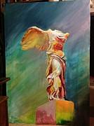 Victory Samothraki Print by Charalampos Gkolfinopulos