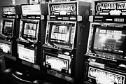 Video Art - video poker gaming gambling machines Las Vegas Nevada USA by Joe Fox