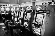 Video Art - video slot machines gaming gambling machines Las Vegas Nevada USA by Joe Fox