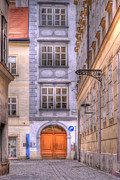 Old World Metal Prints - VIENNA  Mozarthaus Metal Print by Juli Scalzi