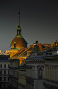 Vienna Metal Prints - Vienna Sunrise Metal Print by Aaron S Bedell