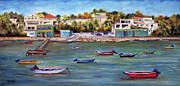 Vieques Print by Gloria E Barreto-Rodriguez