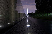 National Historic Landmark District Posters - Vietnam Memorial - 3190 Poster by Chuck Smith