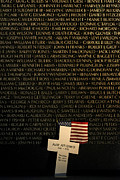 Vietnam Veterans Memorial Photos - Vietnam Veterans Memorial by John Greim