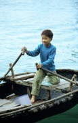 Ha Long Posters - Vietnamese Boy Poster by Rick Piper Photography