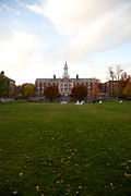 Dormitories Art - View across Radcliffe Quad at Harvard by Jannis Werner