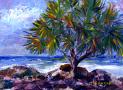 Oranges Painting Originals - View at Makuu by Diane Thornton