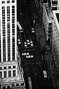 Manhaten Prints - View Down Towards Fifth 5th Avenue Ave New York City Print by Joe Fox