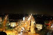 View From Arc De Triomphe - Paris France - 011319 Print by DC Photographer