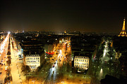 World Framed Prints - View from Arc de Triomphe - Paris France - 011320 Framed Print by DC Photographer