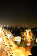 Gateway Framed Prints - View from Arc de Triomphe - Paris France - 01137 Framed Print by DC Photographer