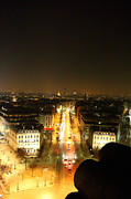 War Framed Prints - View from Arc de Triomphe - Paris France - 01139 Framed Print by DC Photographer