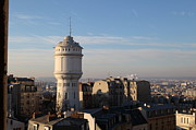 Domes Prints - View from Basilica of the Sacred Heart of Paris - Sacre Coeur - Paris France - 01132 Print by DC Photographer