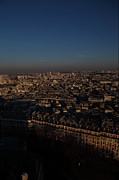 Sacred Framed Prints - View from Basilica of the Sacred Heart of Paris - Sacre Coeur - Paris France - 011327 Framed Print by DC Photographer
