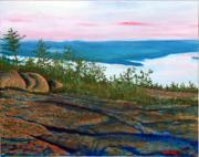 Maine Paintings - View from Cadillac by William Tremble