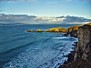 Normans Photos - View From Dunluce Castle by Nina Ficur Feenan