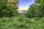 Scenic Drive Prints - View from Empire Bluff Trail Print by Twenty Two North Photography