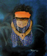 African-american Paintings - View From Heaven by Susan  Toler