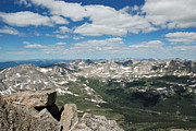 Mt Harvard Photos - View from Mt. Harvard by Bob Linhart
