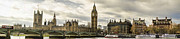 Palace Of Westminster Prints - View from Southbank Print by Heather Applegate
