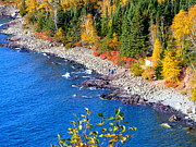 Duluth Art - View from Split Rock Light House by Archana N