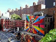 View From The Highline Print by Ed Weidman