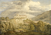 Famous Artists - View near Campitello in the Italian Alps by Joseph Gandy