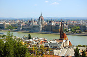 Outlook Prints - View of Budapest  Print by Michal Bednarek