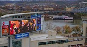 Espn Photo Prints - View Of Cincinnati Print by Dan Sproul