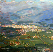 Ylli Haruni - View of Elbasan City