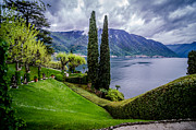 Old Milano Photos - View of Lake Como from Villa Balbianello by Arnaldo Torres