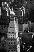 Manhatan Posters - View Of Metropolitan Life Insurance Corp Tower Building New York City Poster by Joe Fox