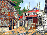 Istanbul Originals - View of old Istanbul by Herbert French